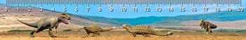 Ankylosaurus T-Rex Ruler(cm)