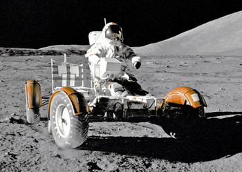 Lunar Rover Postcard