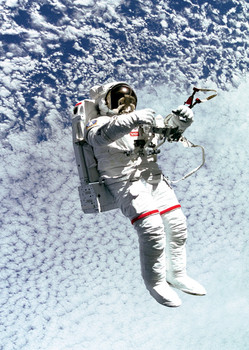 Spacewalk Postcard