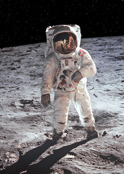 Moonwalk Postcard