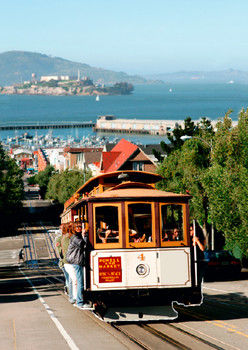 Cable Car - Postcard