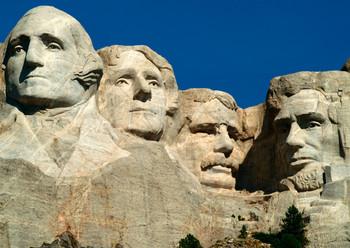 Mount Rushmore, SD - Postcard