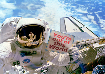 Out of This World - Postcard