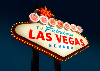 Las Vegas Sign - Postcard