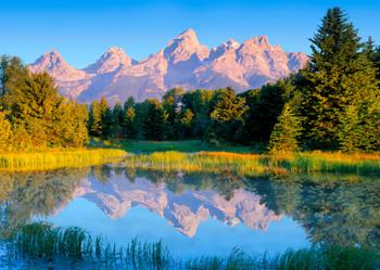 Teton Range - Postcard