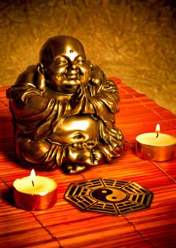 Buddha 1 - Postcard