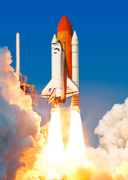Shuttle Endeavor - Postcard