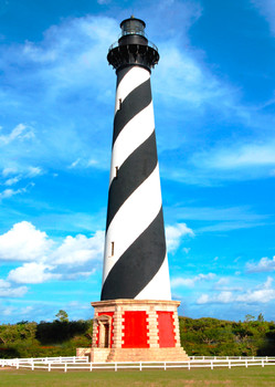 Cape Hatteras Lighthouse - Postcard