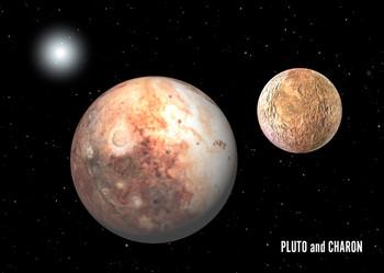 Pluto - Postcard
