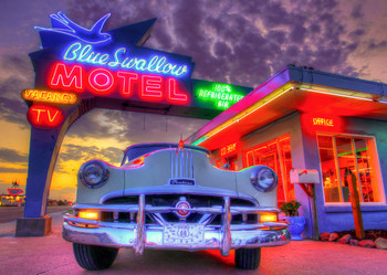 Route 66 - Postcard