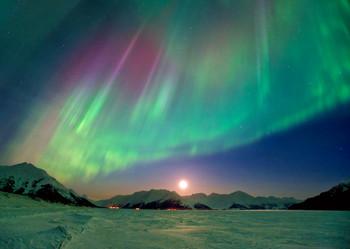 Aurora 02 - Postcard