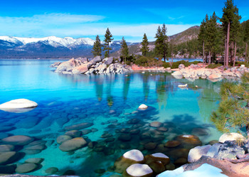 Lake Tahoe, CA-NV Postcard
