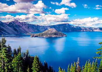 Crater Lake, OR - Postcard