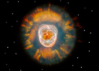 Eskimo Nebula (NGC 2392) Postcard