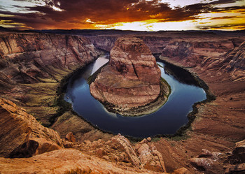 Horseshoe Bend, Arizona Postcard