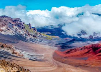 Haleakala Crater, Maui, Hawaii - Postcard