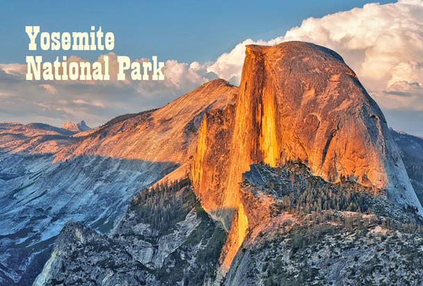 Yosemite Nat Park, Half Dome - Magnet