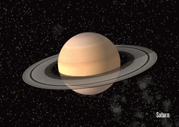 Saturn Postcard