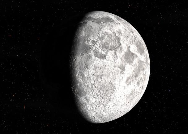 Lunar Phases Postcard