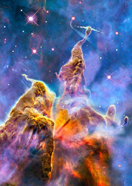 Carina Nebula - Postcard