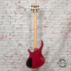Epiphone Toby Deluxe-IV Bass Guitar Transparent Red x2558