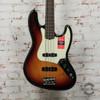 Fender American Pro Jazz Bass® Fretless Electric Bass, Rosewood Fingerboard, 3-Color Sunburst x5133