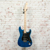 Parts Strat HSS Electric Guitar Blue Flame Maple x7304 (USED)
