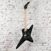 Kramer Tracii Guns Gunstar Voyager Outfit Electric Guitar - Black Metallic and Silver Ghost Flames x0577