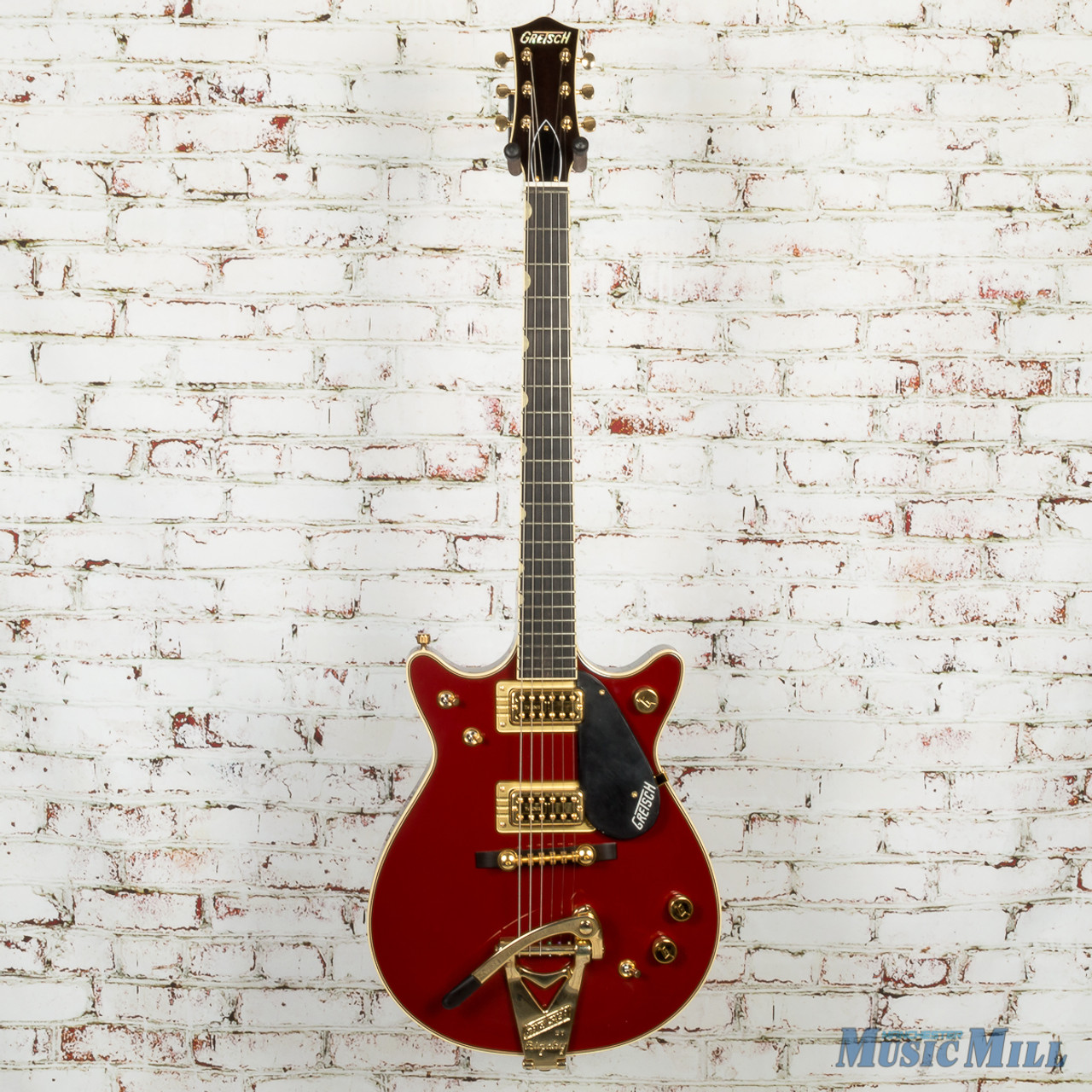 921e3acabef Gretsch G6131T-62 Vintage Select Edition '62 Duo Jet Electric Guitar  Firebird Red