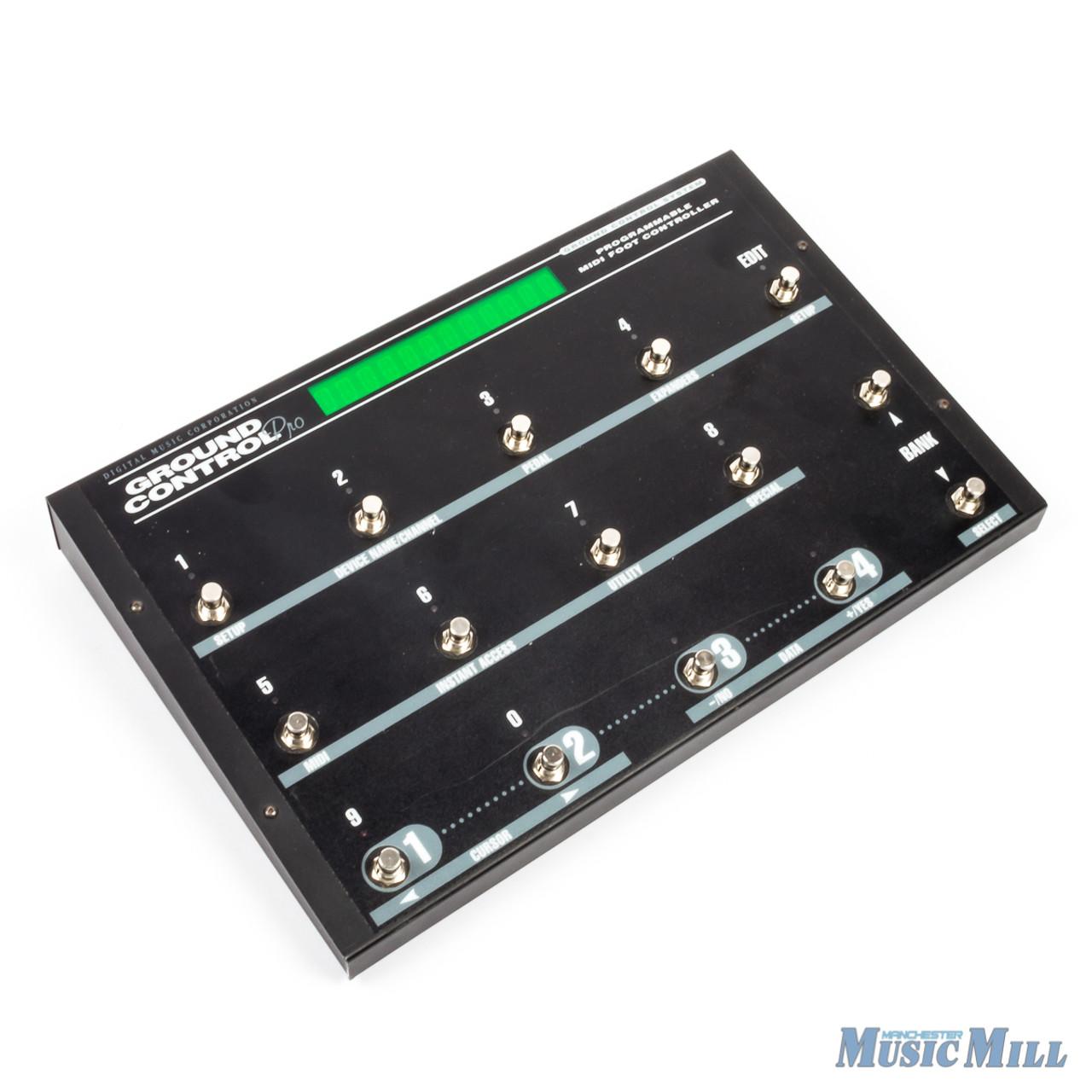 Digital Music Corp DMC Ground Control Pro Midi Foot Controller USED
