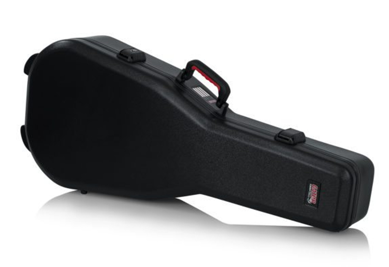 715b290a1ed Gator Cases Molded Flight Case For Acoustic Dreadnought Guitars With TSA  Approved Locking Latch (GTSA ...
