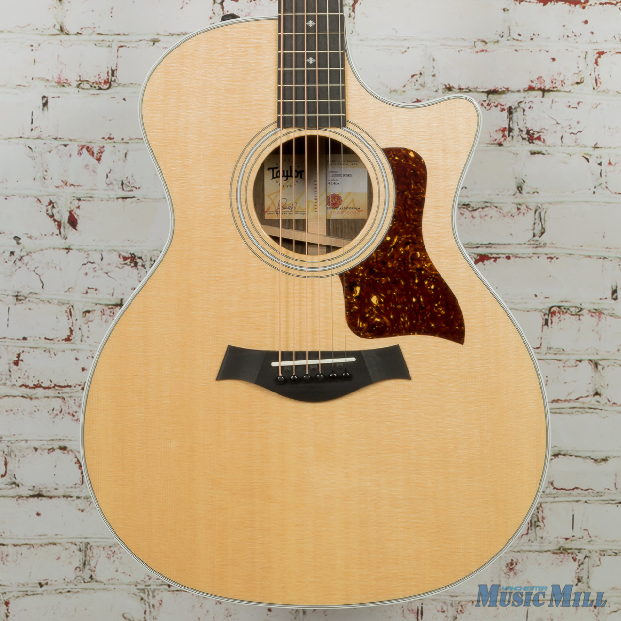 faed5f8cfb8 Taylor 414ce V-Class Special Edition Grand Auditorium Acoustic-Electric  Guitar