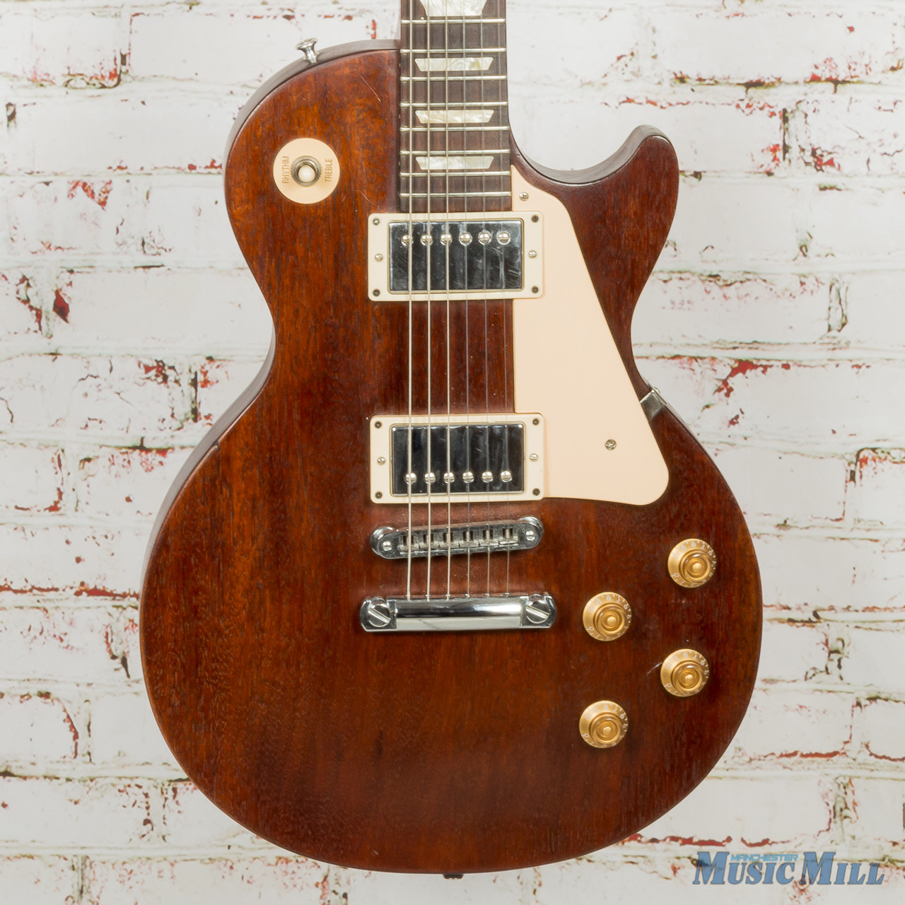 Les Paul Studio >> 2007 Gibson Les Paul Studio Faded Brown Used Manchester Music Mill