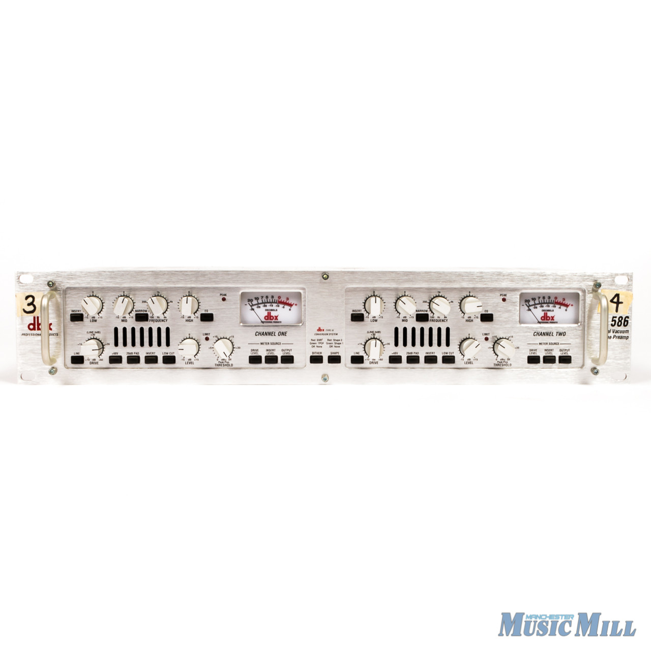 DBX 586 2-Channel Tube Mic Preamp (USED)