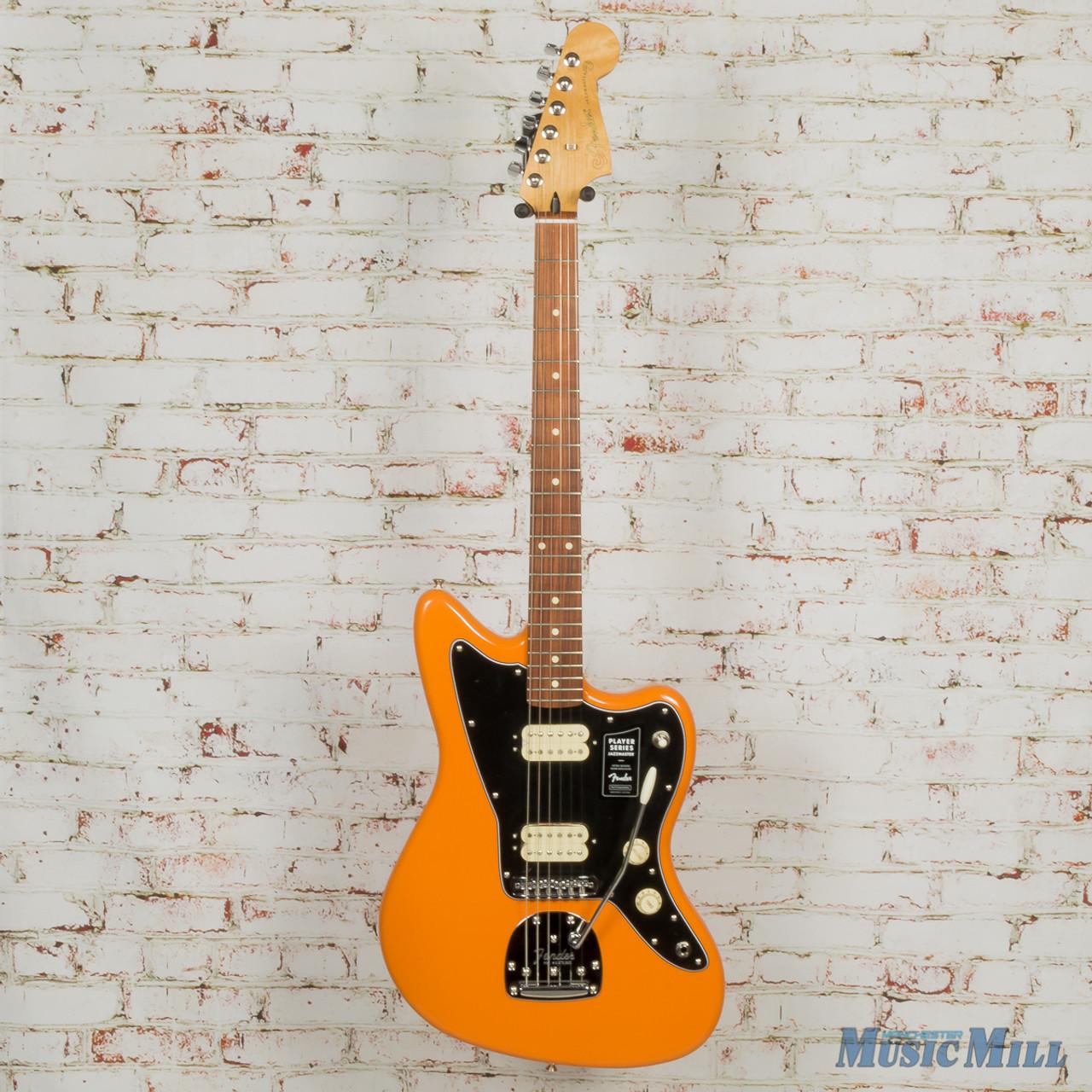 2019 Fender Player Jazzmaster Capri Orange x2912