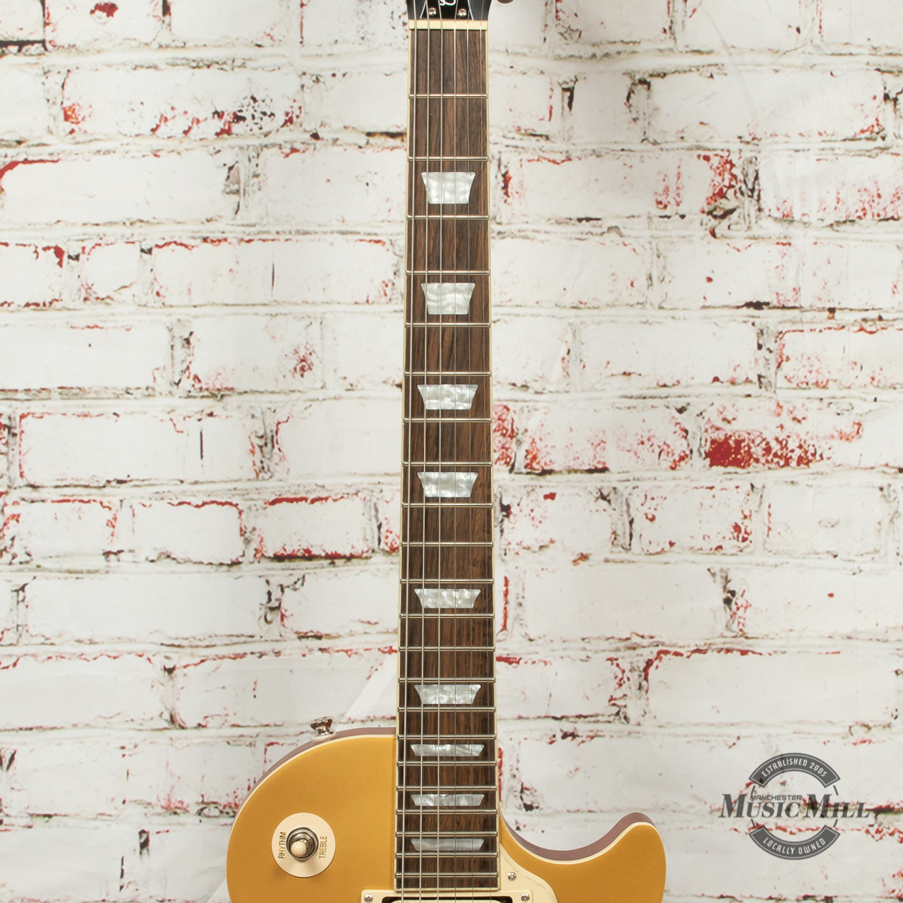DEFEKT Epiphone Les Paul Standard MG E-Gitarre Humbucker Metallic Gold Gloss