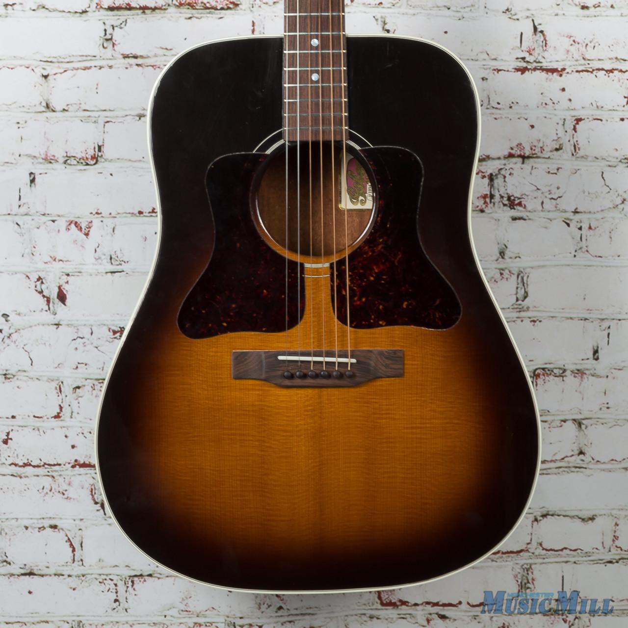 1994 Gibson 100th Anniversary Gospel Left-Handed Acoustic Guitar Vintage  Sunburst