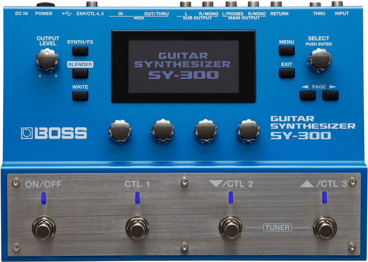 Guitar Synth Pedal >> Boss Sy 300 Advanced Guitar Synth Pedal