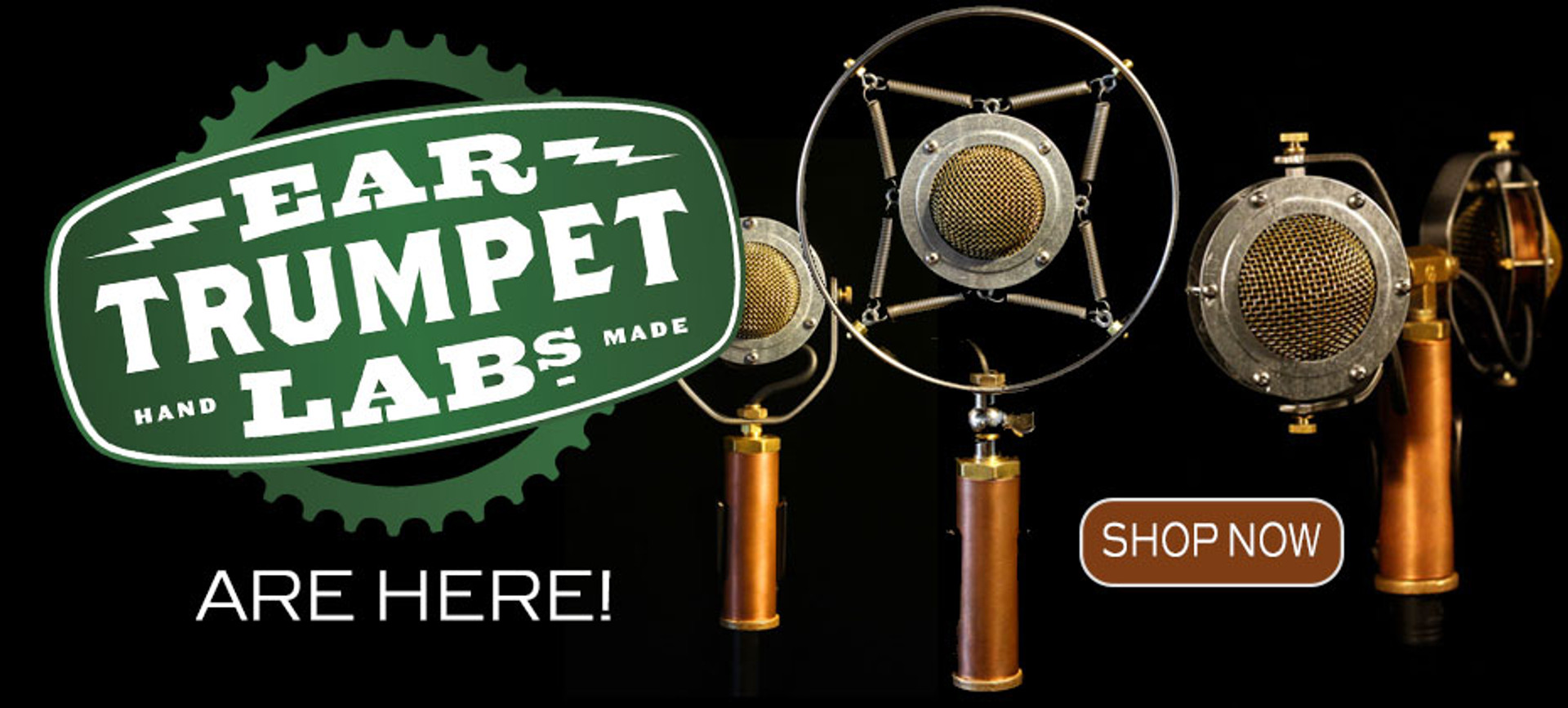 Ear Trumpet Microphone