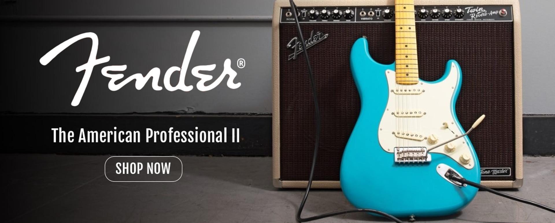 Fender American Professional II Guitar