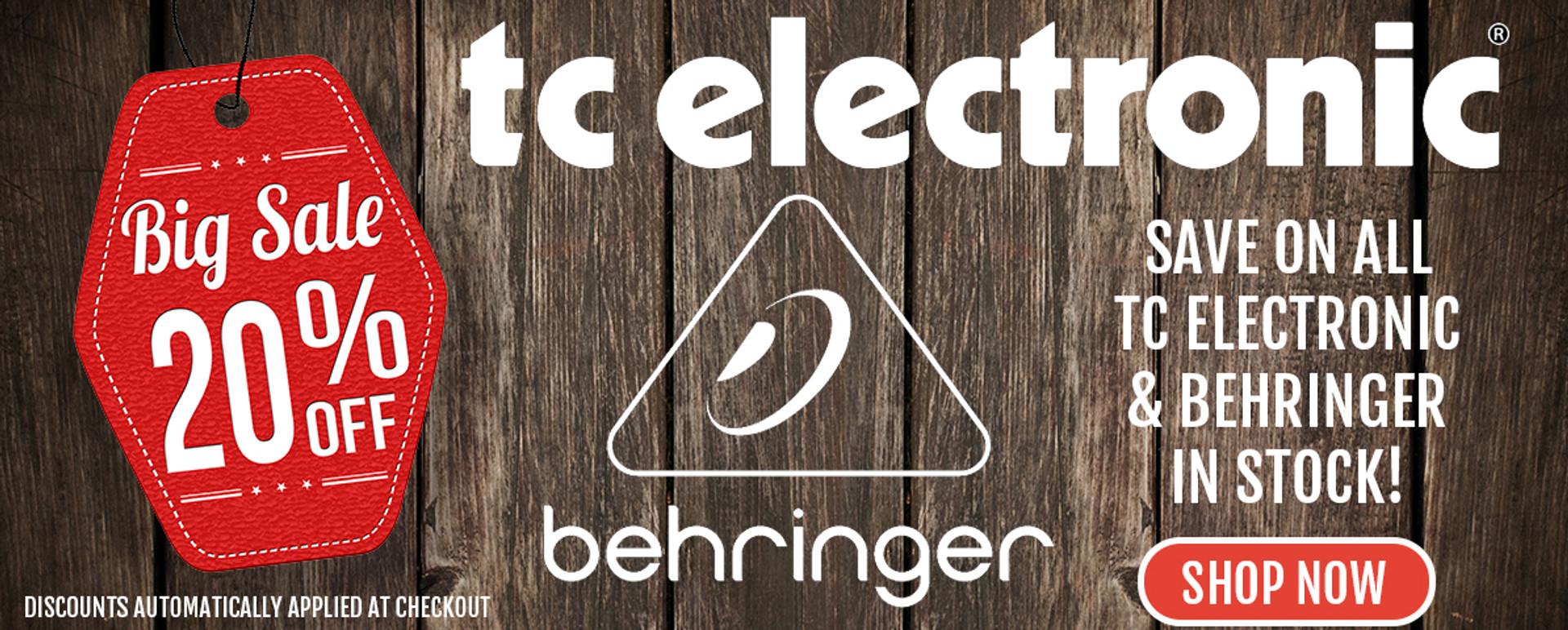 TC ELECTRONIC BEHRINGER