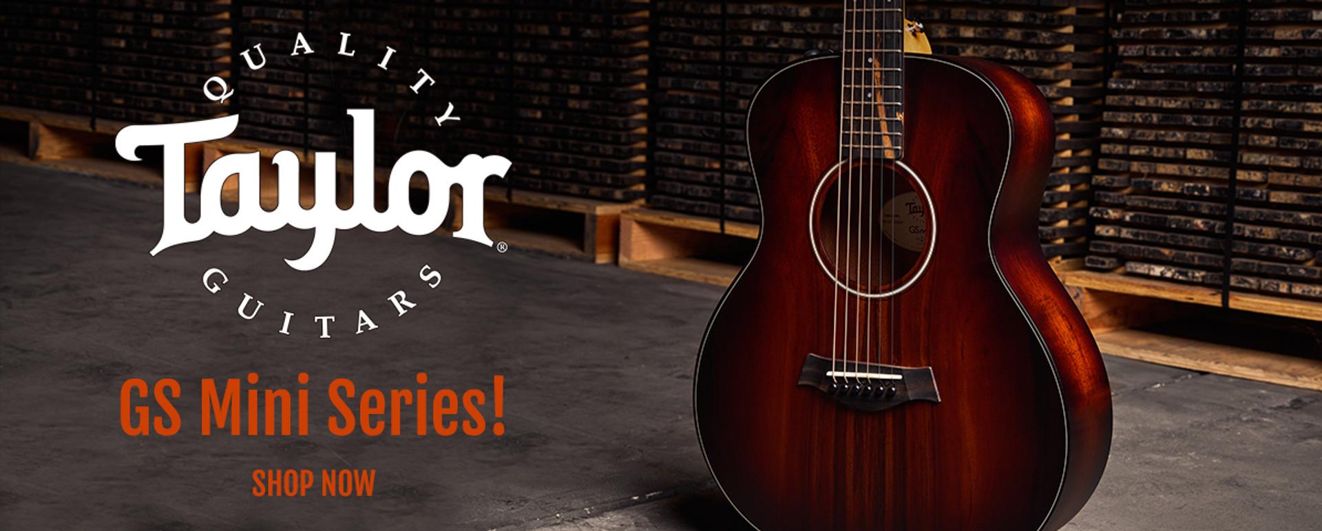 Taylor GS Mini Acoustic Guitars