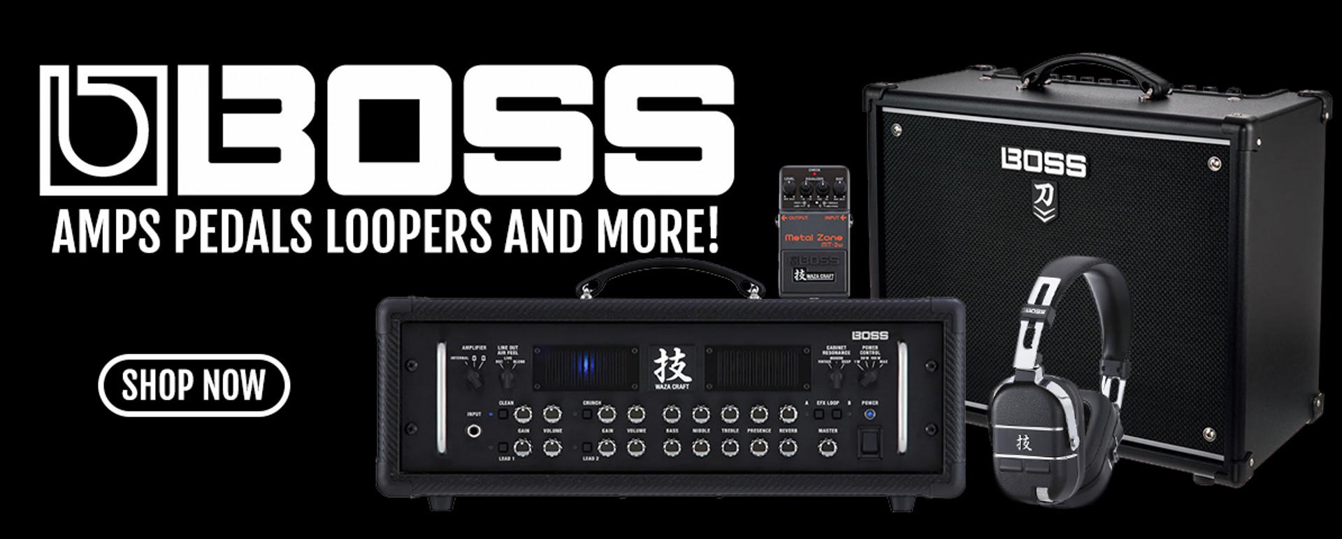BOSS AMPS