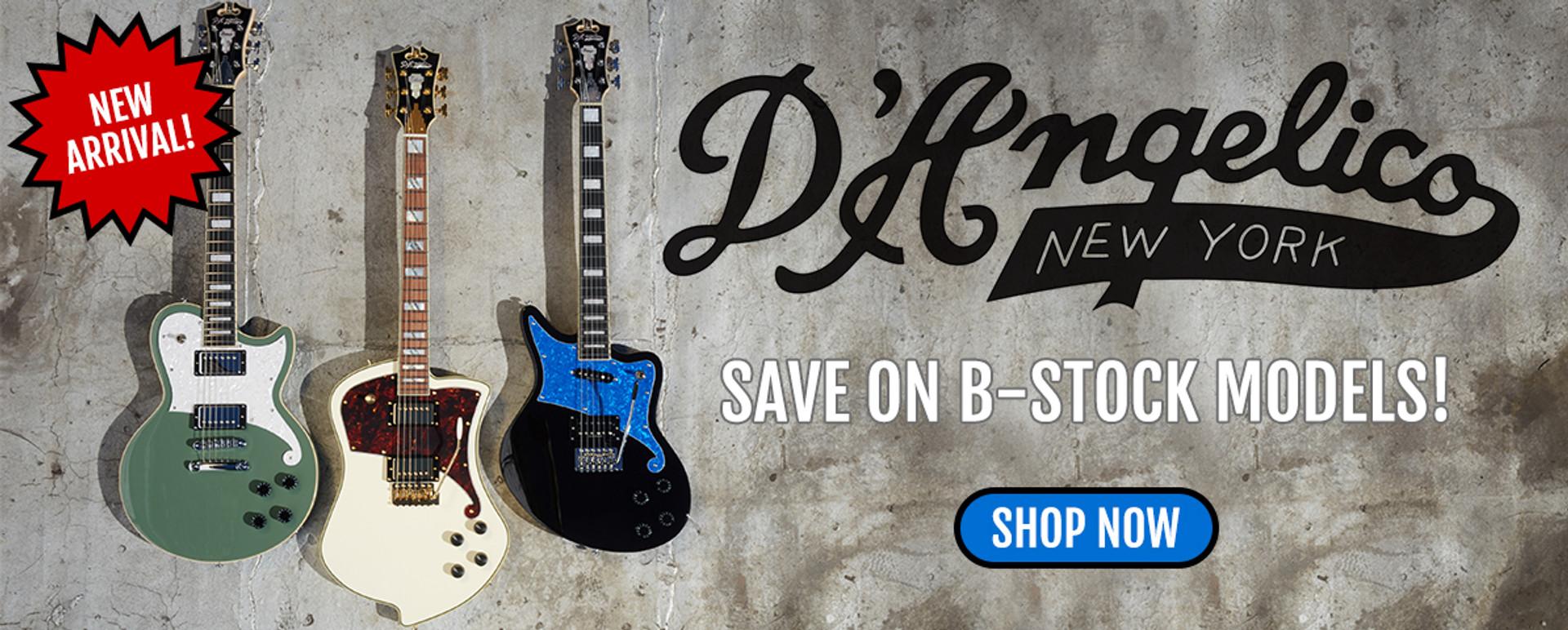 D'Angelico Guitars Authorized Dealer