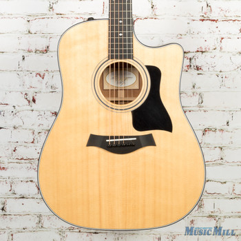 2017 Taylor 310ce Acoustic Electric Dreadnought Natural
