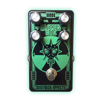 Idiot Box Blower Box Bass Distortion Pedal