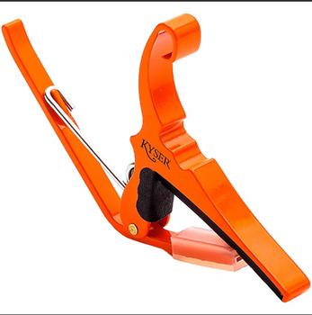Kyser Quick Change 6 String Capo Orange