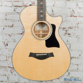 2018 Taylor 312ce 12-Fret Acoustic Electric Guitar Natural