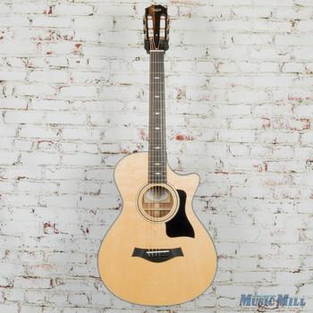 2018 Taylor 312ce 12-Fret Acoustic Electric Guitar Natural
