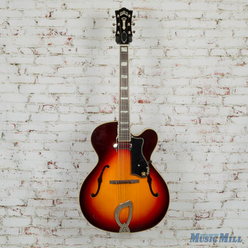 Guild A-150 Hollow Body Electric Guitar Savoy Antique Burst –3796000837–MSRP-$1,710 3277